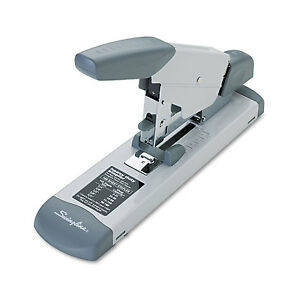 Swingline Deluxe Heavy duty Stapler 160 sheet Capacity Platinum 39002