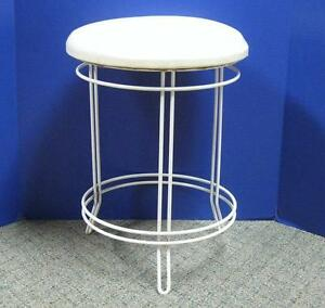 Vintage Vanity Bench Stool Chair Mid Century Retro Hollywood Regency