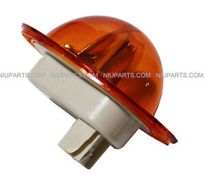 Freightliner Cascadia Side Marker Turn Led Light Amber Clear Lens