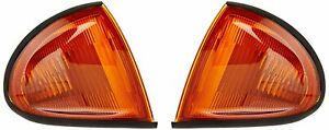 93 97 Honda Del Sol Jdm Orange Amber Oe Corners Blinkers Fast Shipping