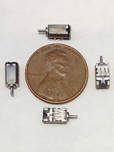 4 Pieces Dc 3v Ultra Micro Rotor Motor 3mm X 4mm X 7mm 35g Wgt Electric Motor