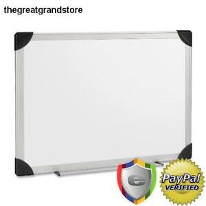 Large Dry Erase Board Wall Mount Hang Whiteboard Classroom 6 x4 Aluminum White
