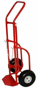Milwaukee Hand Trucks 40764 Delivery Cylinder Truck 1 Gas Cylinder 800 Lb Load