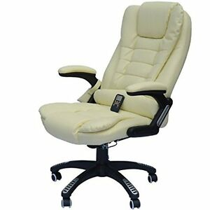 Office Chair Vibrating Massage Ergonomic High Back Computer Desk Executive Seat