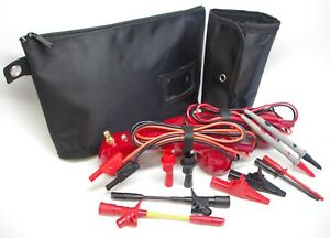 Me002 red Loop Check Electrician Test Phones Cable Tracer Set
