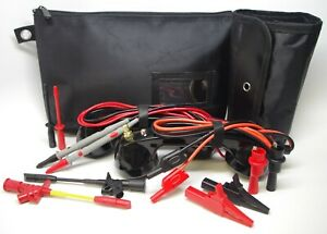 Me002 black Loop Check Electrician Test Phones Cable Tracer Set