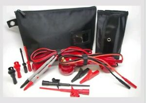 Me003 red Loop Check Electrician Test Phones Cable Tracer Set