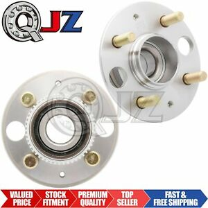 2x 1997 01 Acura Integra Gs Gsr Ls Rear Wheel Hub Bearing Assembly W Abs Sensor