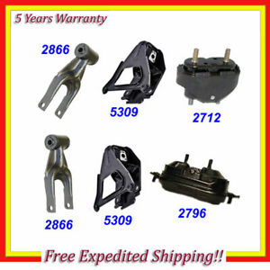 2000 2005 For Chevrolet Impala 3 8l Engine Motor Trans Mount Set 6pcs M661