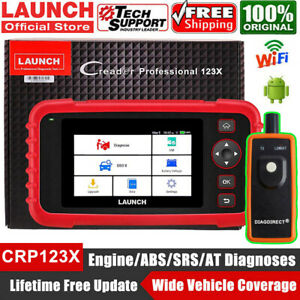Launch Cr8001s Obd2 Diagnostic Scanner Reset Abs Srs Transmission Tool As Crp129