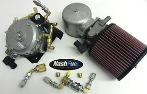 Impco Low Clearance Complete Dual Fuel Propane Gas Kit High Hp 425 V8 454 Lpg