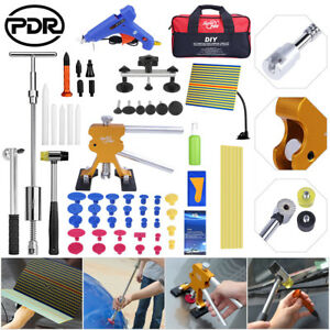 51 Super Pdr Tool Dent Lifter Puller Paintless Hail Repair Slide Hammer Removal