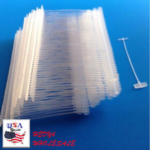 20000 Regular 2 Inch Clear Price Tag Tagging Barbs Fasteners Fast Shipping