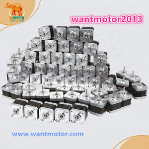Usa Free Ship Wantai 60pcs Nema17 Stepper Motor 42byghw811 4800g cm 48mm 2 5a 3d