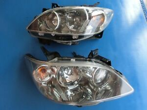 Jdm Mazda Mpv Lw3w 2nd Gen 2004 06 Oem Hid Headlight Lamps Lights Clear 1 Pair