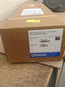 Omron Ms4800 30 0680 x 702371467 X2 Light Curtain Transimitters