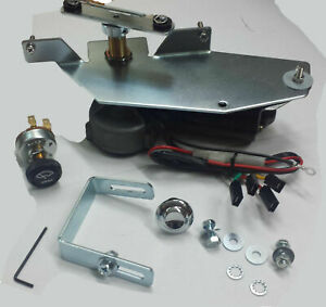 12v Wiper Motor Kit Replaces Original Vacuum Unit Fits 1958 59 Chevy