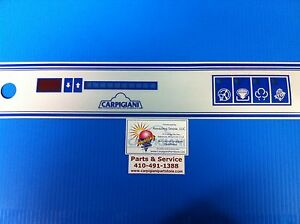 Carpigiani Parts Batch Freezer Gelato Ice Cream Touch Panel Decal Lb302 Decal