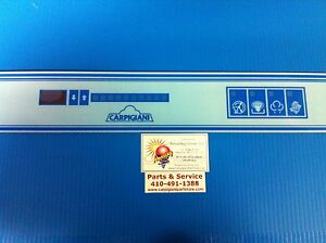 Carpigiani Parts Coldelite Batch Freezer Gelato Icecream Touch Panel Decal Lb502