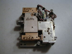 7 5 Ghz Parametric Amplifier W Mmw Pump Source Military Dscs Cool Item