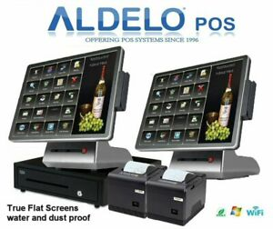 Aldelo Pos Pro Restaurant Pos System New Dual Core I3 3 6ghz 4gb Ram 120gb Ssd