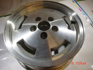 84 86 New Take Out 15x6 Aluminium Rim Jeep Wagoneer Limited Slotted Cherokee Xj