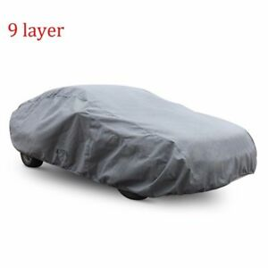9 Layer Car Cover Fit Honda Accord 05 15 Waterproof Outdoor Indoor Use Durable