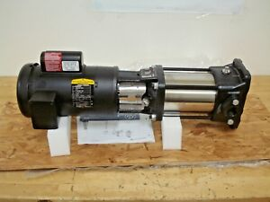 Grundfos 1 5 Hp Vertical Non self priming Multistage In line Centrifugal Pump