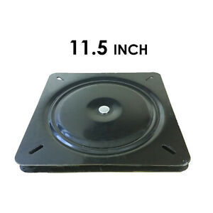 1pc 13 Inch 330mm Full Ball Bearing Flat Swivel Plate Turntable
