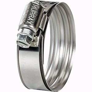 1 3 16 To 2 1 8 Murray Dual Bead Super Sealing Hose Clamp Db28ss