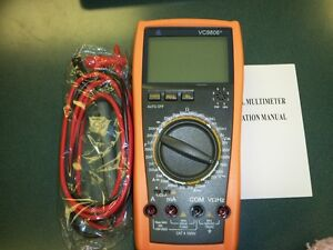 1 New Vc9806 4 1 2 Digital Multimeter Diode Hfe Test Continuity Ship From Usa