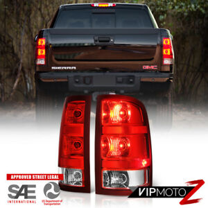 factory Replacement 2007 2013 Gmc Sierra Left Right Pair Tail Lights Lamps Set