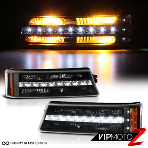 Led Strip 2003 2006 Chevy Silverado Avalanche 1500 2500 3500 Bumper Signal Light