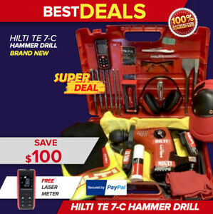Hilti Te 7 c L k Great Condition Free Hilti Extras And Meter Fast Shipping
