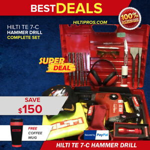 Hilti Te 7 c L k Excellent Condition Preowned Free Coffe Mug Fast Shipping