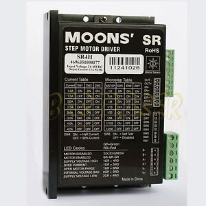 Phase Micro Stepper Motor Driver Sr4h For Cnc Router Laser Machine