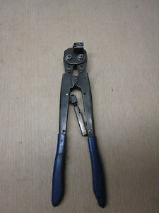 Molex Etc Rht 5758 14 16 Awg Terminal Connector Hand Crimp Tool Crimper Used