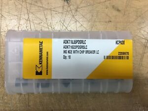 Kennametal Adkt1622pdsr5lc Kcpk30 Pack Of 10