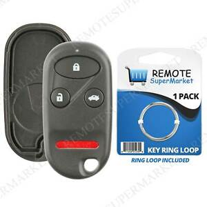 Replacement For Acura 99 03 Tl Honda 98 02 Accord Remote Car Key Fob Shell Case