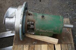 Bingham Pump Power End Size 12x12x18 Stainless Impeller Model Cfo