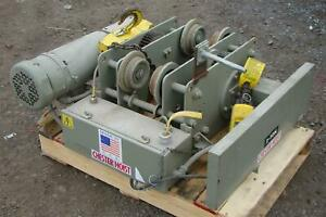 Chester Electric 2 Ton 2 Hp 3 Phase Worm Drive Hoist 10 Lift Elp 1530 2