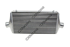 Cxracing Universal Intercooler 32x12x4 3 Inlet outlet
