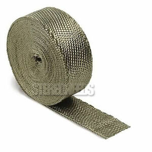 Dei 010127 2 X 50ft Titanium High Temperature Header Manifold Exhaust Wrap Roll
