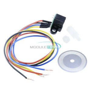 Photoelectric Speed Sensor Encoder Coded Disc Code Wheel For Freescale Smart Car