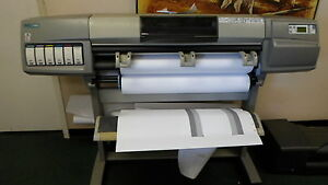 Hp C6091a C6090z Designjet 5000 Ps Plotter