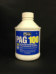 A C Pro Pag 100 Medium Viscosity Oil For R 134a Auto Systems 8 Oz Free Shipping