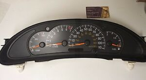 2000 To 2005 Pontiac Sunfire Instrument Cluster With Tach Rebuilt exchange