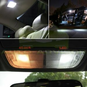 8x Led White Smd Interior Lights Package For 2003 2012 Honda Accord Sedan Coupe