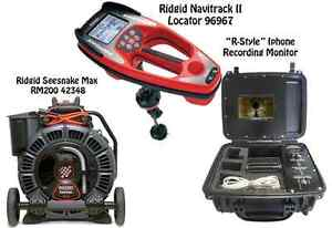 Ridgid Seesnake Max Reel 42348 Navitrack Ii Locator 96967 R style Iphone Monitor