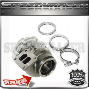 T72 T4 Turbo Charger Twin Scroll Oil Cooled 4 2 5 4 Vband Clamp